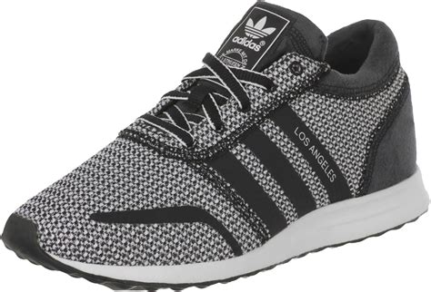 adidas los angeles w shoes black white