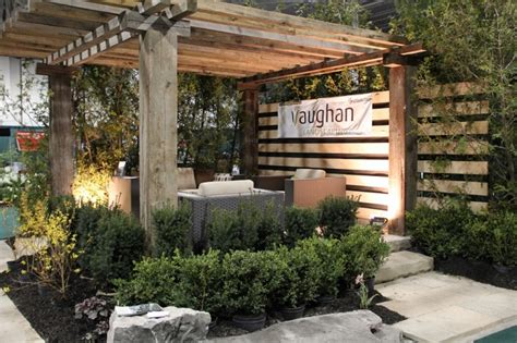 home design garden show landscape display at the international home garden show