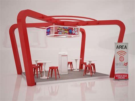 booth design indonesia martha tilaar booth design aiviz studio