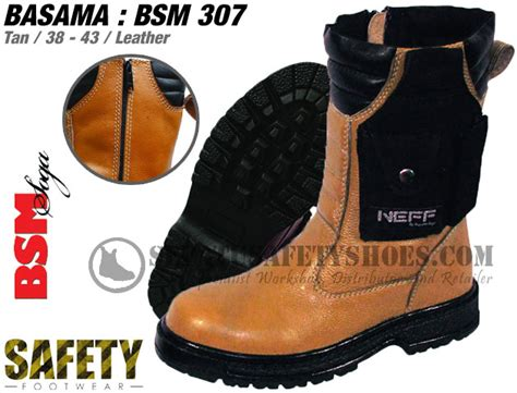 Basama Soga Boots sepatu safety basama 307 best seller safety shoes