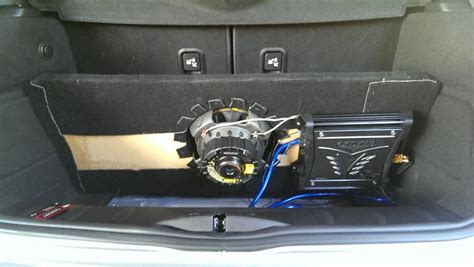 Mini Auto Subwoofer by Fs Mini Cooper Subwoofer And Enclosure North