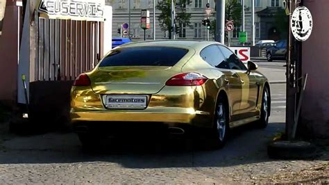 Auto Folie Crom Gold by Facemotors Eu Gold Chrom Technology 3d Folie Porsche