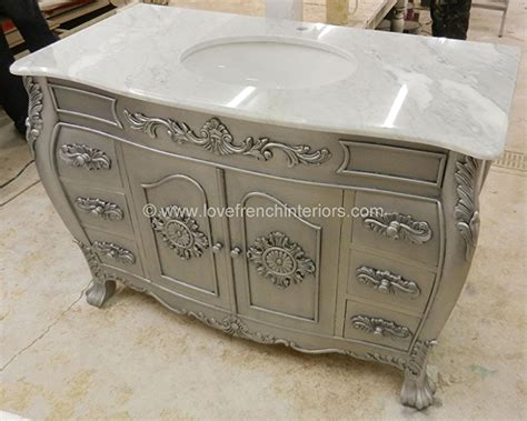 marble sink vanity unit bespoke louis sink vanity unit with solid marble top