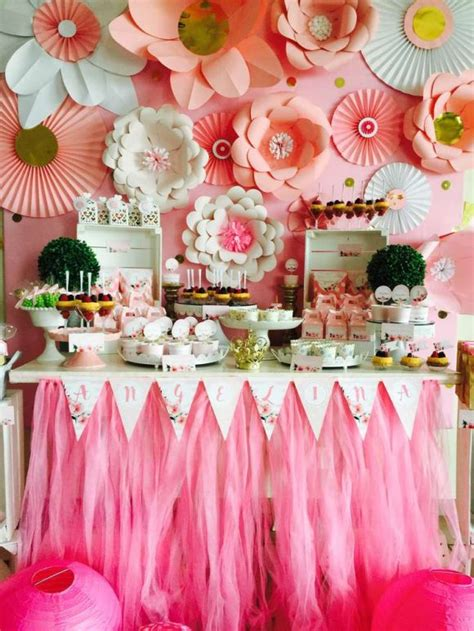 birthday party decorations photograph katabolic designs bl 10 gorgeous paper flower backdrops catch my party