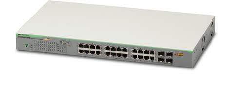 Switch Allied Telesis At Gs950 24 gs950 28ps gigabit websmart switch allied telesis