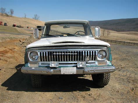jeep gladiator 1971 1971 jeep gladiator j 2000 4x4 truck