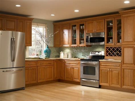 Findley Myers Kitchen Cabinets by Oak Kitchen Cabinet Photos