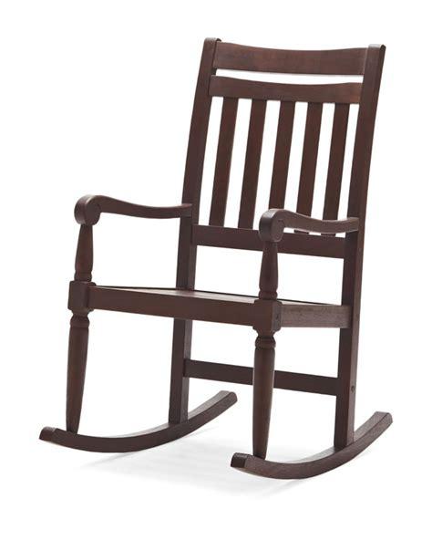 Garden Rocking Chairs Strathwood Redonda Hardwood Rocking Chair Brown Patio Rocking Chairs