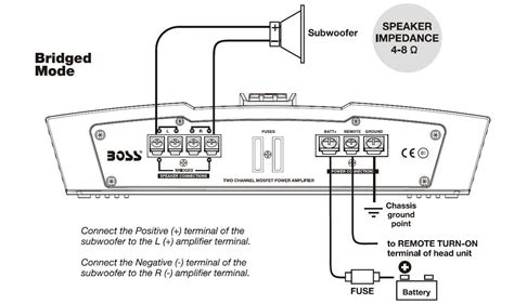 subwoofer wiring diagram wiring diagram with