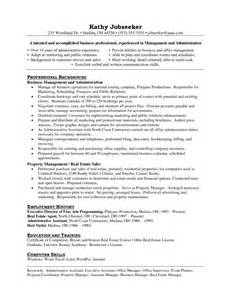 Property Manager Assistant Sle Resume by Assistant Manager Resume Getessay Biz