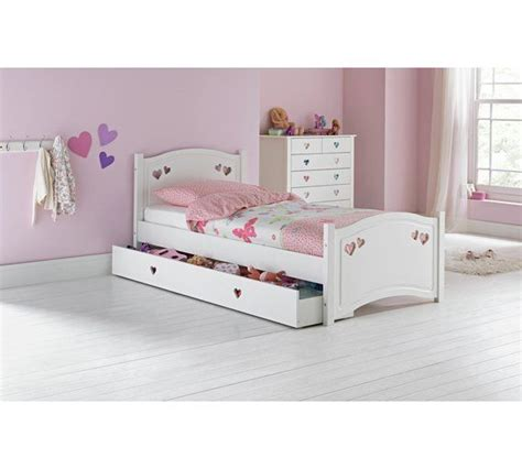 buy collection single bed frame white at argos co uk