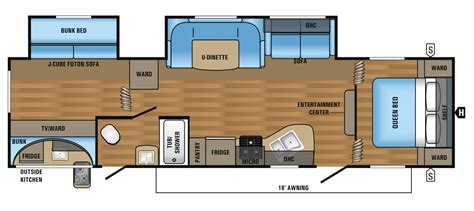 jayco trailers floor plans 2017 jay flight slx travel trailer floorplans prices