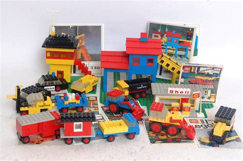 lego vintage 3 lego a collection of vintage lego cars buildings and
