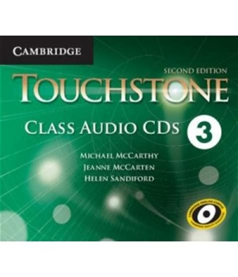 touchstone 3 2 ed class audio cds cambridge libroidiomas