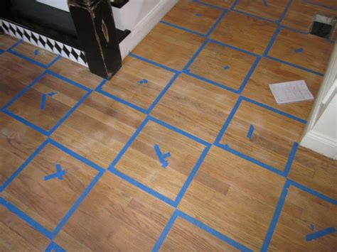 Getting Paint Wood Floor by To Earth Style How To Paint A Rug On Wood Floors