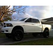 2013 Ram 1500 Lifted White Help Decide The Future Of Snow