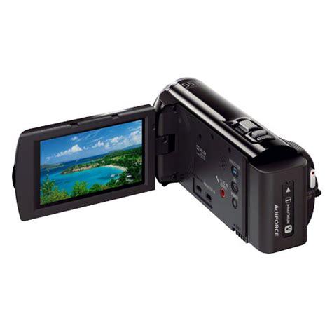 Handycam Sony Projector Pj380 sony hdr pj380 b 8 9 mp handycam 3 0 quot lcd camcorder 16gb flash memory sd sdhc sdxc card