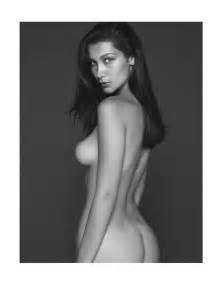 bella hadid nue pour vogue paris photos star nue