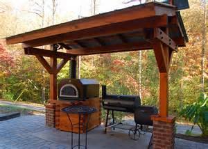 Brick Oven Outdoor Fireplace - outdoor living devol millwork