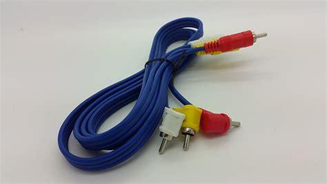 Kabel Rca 3 K 3 Merk Kitani Cable Rca Panjang 1 8m jual kabel rca 3 k 3 merk kitani cable rca panjang 1 8m warunglistrik