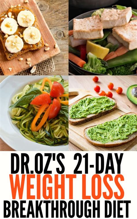 Breakthrough Detox by Dr Oz S 21 Day Weight Loss Breakthrough Diet Weight Loss