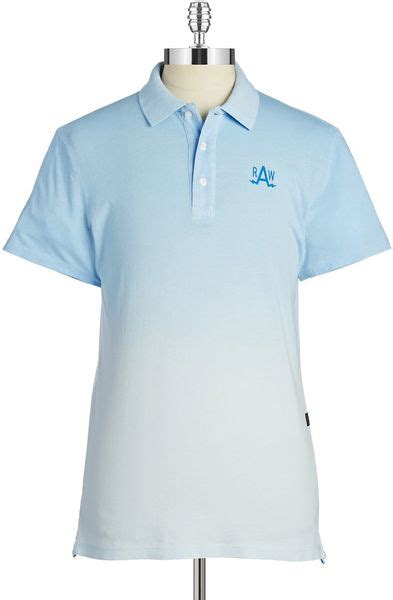 Celana Softjeans Polos g logo polo in blue for soft blue lyst