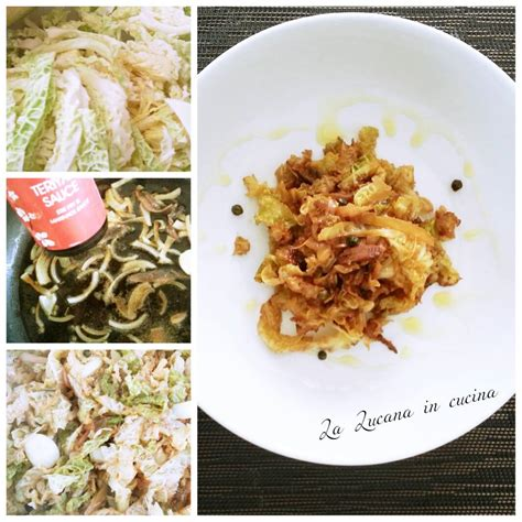 cucinare con la salsa di soia verza con salsa di soia e acciughe la lucana in cucina