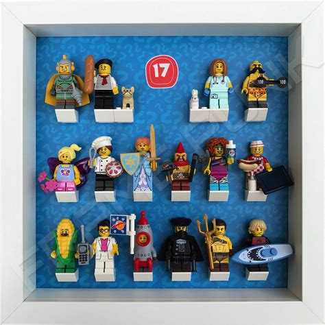 Lego Minifigure Series 17 Connoiseur lego minifigures series 17 display frame frame