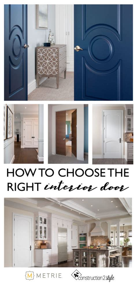 choose   interior door constructionstyle
