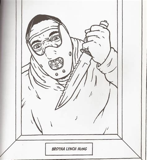 Gangsta Coloring Pages gangsta rap coloring book 23 550x600 jpg