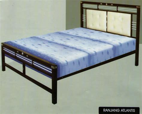 Ranjang Besi Tanpa Kasur mahkota baru furniture ranjang besi minimalis
