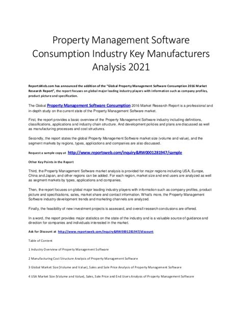 global property management global property management software consumption industry