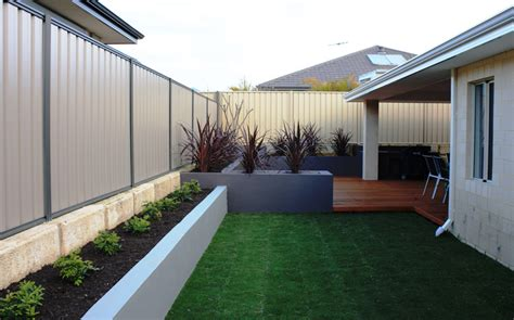 backyard ideas perth instant gardens landscaping perth