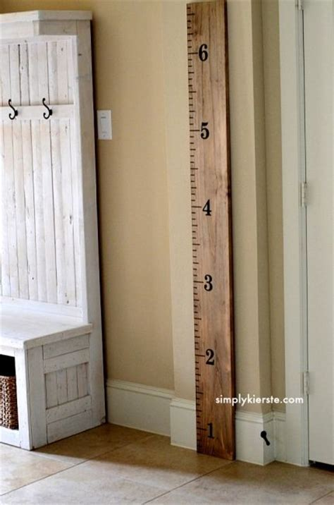 capture your child s growth with a diy growth chart