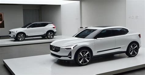 Volvo 2019 Announcement by 2019 Volvo Xc40 The Smallest Volvo Crossover For Now