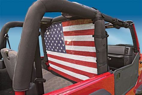 american flag jeep vertically driven products vdp windstopper wind screen