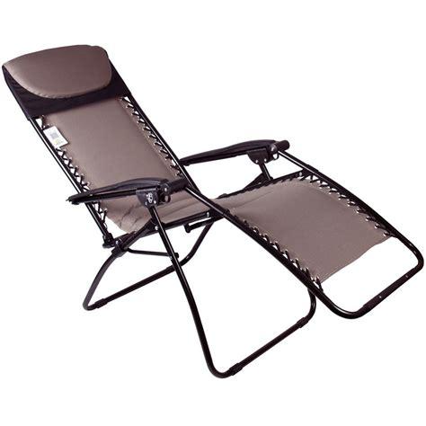 Padded Zero Gravity Chair by Azuma Zero Gravity Padded Garden Relaxer Lounge Lounger