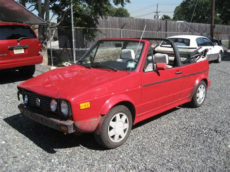 1991 Volkswagen Cabriolet by 1991 Volkswagen Cabriolet Information And Photos