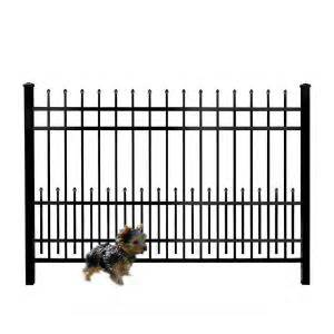 home depot fencing prices mainstreet aluminum fence 3 4 in x 1 5 ft x 6 ft
