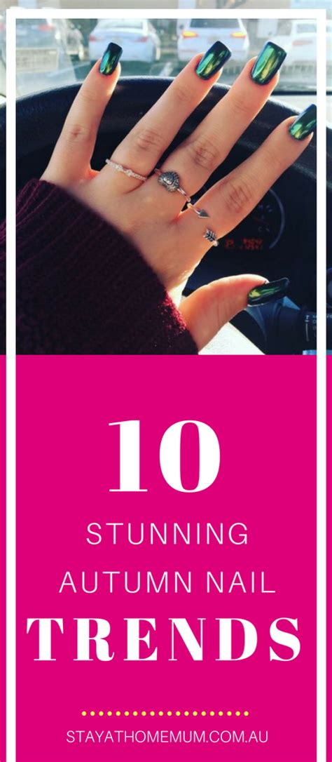 10 Nail Trends Are Following This by 10 Stunning Autum Nail Trends