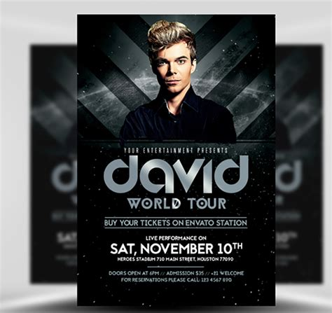 flyer design dj dj world tour flyer template flyerheroes