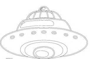 dibujos nave espacial colorear