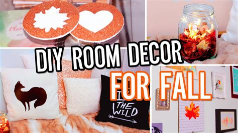 Bathroom Craft Ideas by Diy Room Decor For Fall Make Your Room Cozy No Sew