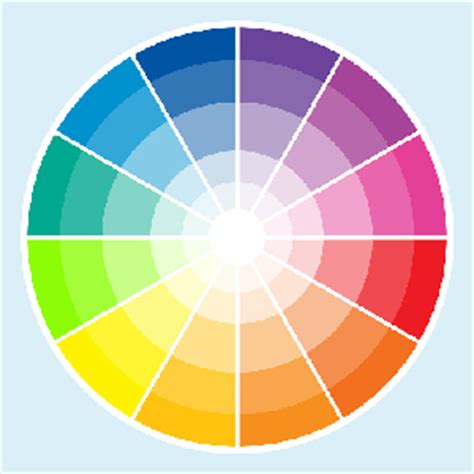 complimentary color to pink color wheel