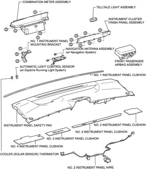 manual repair autos 2001 toyota prius instrument cluster service manual 2002 toyota prius dash repair repair guides interior instrument panel pad and