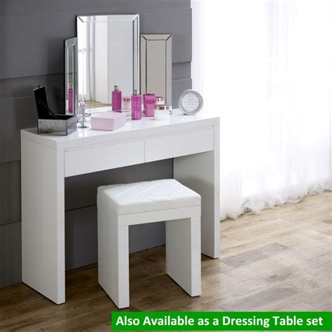 white dressing table 17 best ideas about white gloss dressing table on