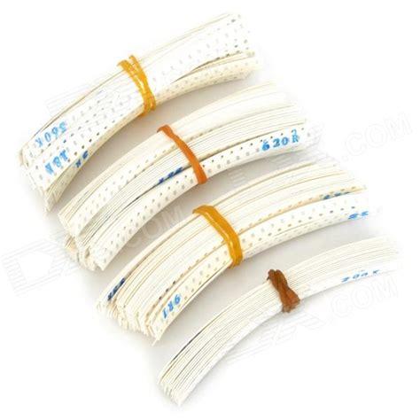 smd resistor set 0603 0ohm 20mohm smd resistor set white 4425 pcs