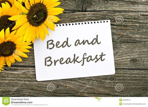 bed breakfast com bed and breakfast stock images image 35009014
