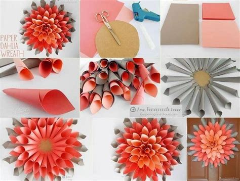 how to make flower decoration and ideas step by step how to make paper flowers
