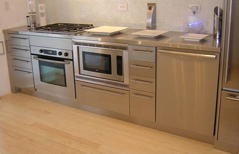 stainless steel kitchen cabinets cost the simplicity of stainless steel kitchen cabinets decor